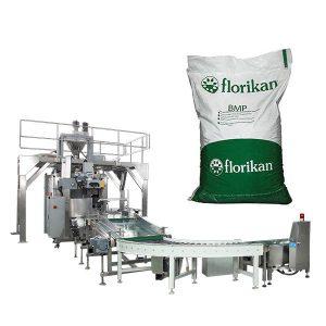 Màquina automàtica d'embalatge a granel per a la llet en pols en bosses de 10 kg 25 kg