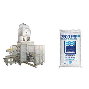 Màquina d'envasat de sac de zeolita de 20 kg amb màquina segelladora