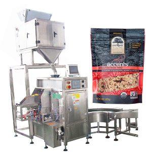 Màquina automàtica d'ompliment i segellat per pols de cafè