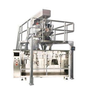 Màquina d'empaquetatge granular horitzontal automàtica prèvia elaborada