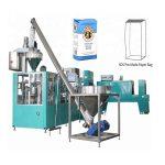 línia d'embalatge automàtic per a farina