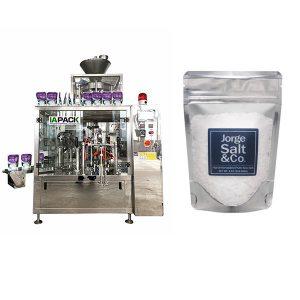 Màquina automàtica d'embalatge rotatiu Premade Bag per a sal