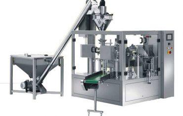 màquina d'embalatge automàtic d'espàrrecs en pols d'espècies rotatives