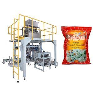 Bolsa gran granular Bolsa pesada Empaquetadora d'arròs per 10kg-50