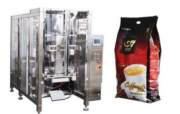 màquina automàtica d'empaquetatge de quatre taules quadrades màquina d'ompliment de tasses volumètriques