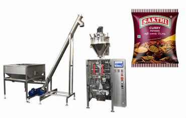 Màquina d'envasat en pols de 100 gr per 500 gr