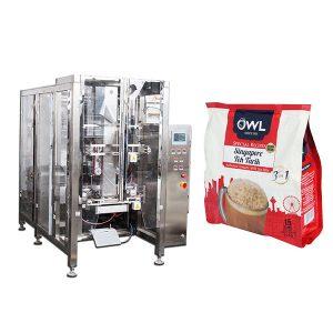 Màquina d'embalatge de pols de cafè automàtic de degasió