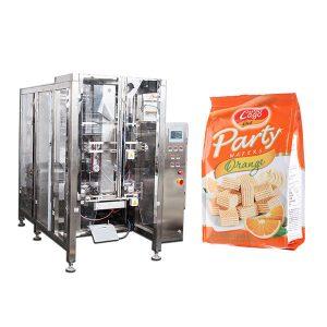 Màquina automàtica d'embalatge de borsa quadrada d'alimentació automàtica Quad