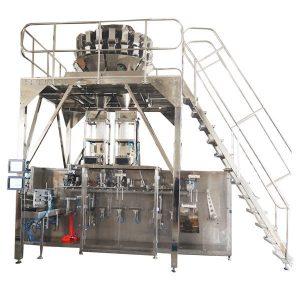 Màquina d'embalatge horitzontal confeccionada amb escales múltiples per a grànuls