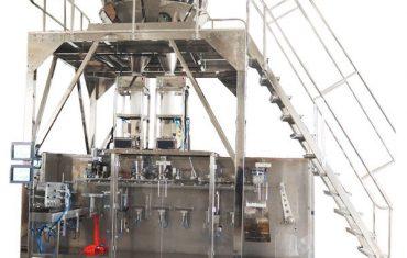 màquina d'embalatge preformada horitzontal amb pesadora multihead