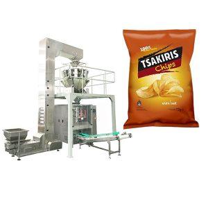 Màquina d'embalar de patates fregides