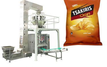 Màquina d'embalar de 72 g de patates fregides