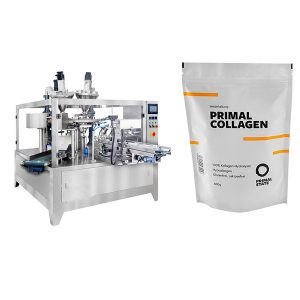 Màquina d'embalatge de farcit automàtic en pols