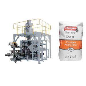 Màquina per a embalatge en pols 20 kg. Màquina d'embalatge de grans farines amb farina de segellat