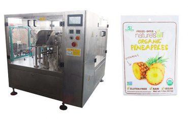 màquina d'envasat rotativa i segelladora