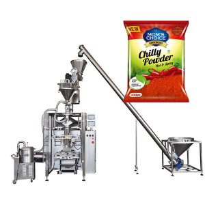 VFFS Bagger Packing Machine amb Auger Filler for Paprika and Chilli Food powder