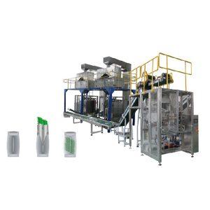 Línia d'embalatge secundari de màquines d'envasat vertical