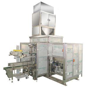 Màquina d'embalatge automàtic de bosses ZTCK-25, màquina d'empaquetatge de bosses teixides