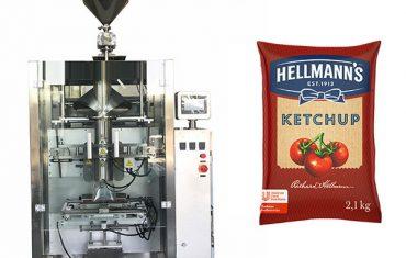 Màquina d'envasat de salses de quetxup de 500g-2kg
